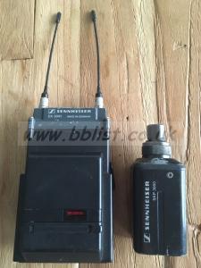 Sennheiser Radio Mic EK 3041+SKP3000 Plug on transmitter