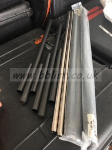 """RED RODS SET 24"""" NEW"""