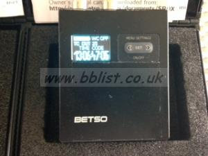 Betso SBox-1N used but in perfect working order with box