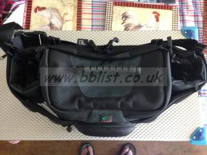 TATA Bum Bag W-92  used once comes with rain jacket