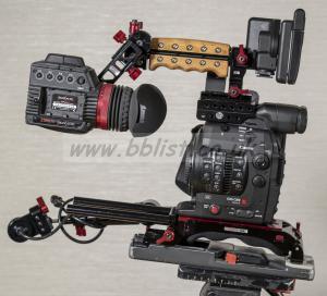 Canon EOS Cinema C300 EF Mark 2 camera body with Zacuto kit