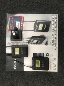 Sony UWP-D11 UHF Wireless Microphone pkge +hot shoe mount