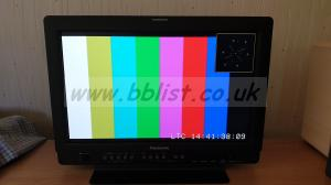 "Panasonic BT-LH1710E 17""  HD/SDI LCD Video Monitor"