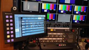HD/3G/4K 2ME vision mixer.  Pansonic HS6000 & HS60C4 panel
