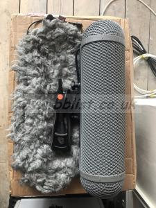 Sennheiser MKH60 microphone with Rycote basket