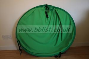 Lastolite collapsable 1.8m x 2.75m Chromakey Green