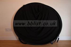 Lastolite Collapsible 1.8m x 2.75m Black/White background
