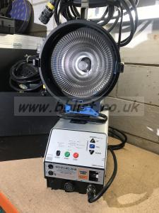 Arri 1.8 msr 1.8kw lamp with ballast and header