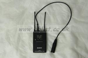 SONY URX-P2 Ch38 WIRELESS RECEIVER with XLR output cable