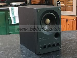 Sony  SMS-1P Powered Monitor Speaker. Similar to Fostex 6301