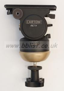 Cartoni Beta fluid head