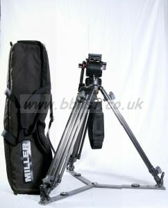 MILLER tripod with 50 Series II flui-head 100 mm