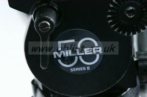 MILLER tripod with 50 Series II flui-head 100 mm