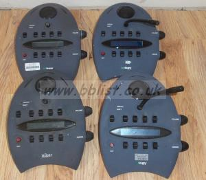 4x Trilogy Digital Intercom Desktop Panels