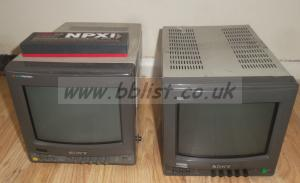 2x Sony BVM-9221 9inch Colour Monitors