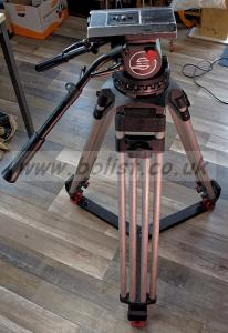 Sachtler Tripod 150 (Medium) + Fluid Head Video 25 II