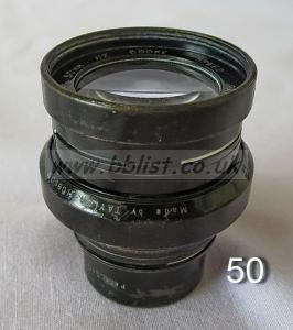 Cooke Panchro Lenses, unmounted, 'War Finish' 50-3