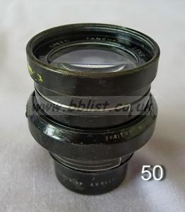 Cooke Panchro Lenses, unmounted, 'War Finish' 50-4