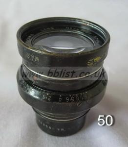 Cooke Panchro Lenses, unmounted, 'War Finish' 50-5