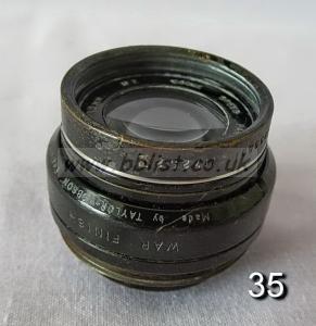 Cooke Panchro Lenses, unmounted, 'War Finish' 35-2