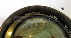 Cooke Panchro Lenses, unmounted, 'War Finish' 75-3