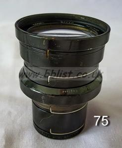 Cooke Panchro Lenses, unmounted, 'War Finish' 75-6