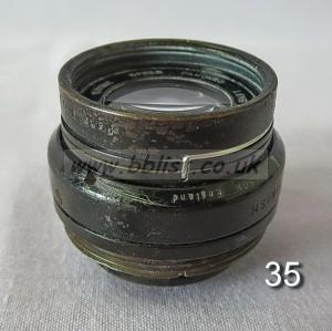 Cooke Panchro Lenses, unmounted, 'War Finish' 35-3