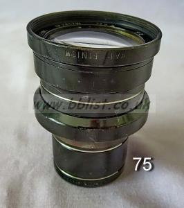Cooke Panchro Lenses, unmounted, 'War Finish' 75-8