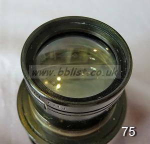 Cooke Panchro Lenses, unmounted, 'War Finish' 75-10