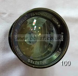Cooke Panchro Lenses, unmounted, 'War Finish' 100-3