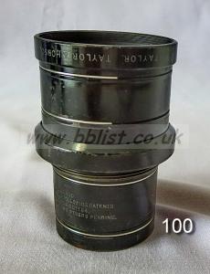 Cooke Panchro Lenses, unmounted, 'War Finish' 100-6
