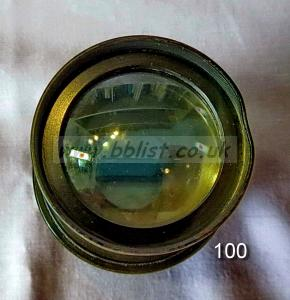 Cooke Panchro Lenses, unmounted, 'War Finish' 100-8