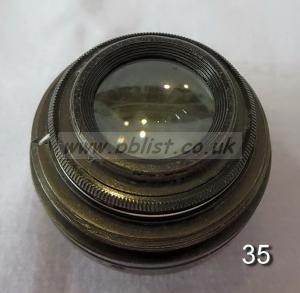 Cooke Panchro Lenses, unmounted, 'War Finish' 35-6