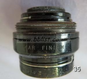 Cooke Panchro Lenses, unmounted, 'War Finish' 35-7