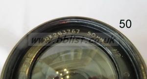 Cooke Panchro Lenses, unmounted, 'War Finish' 50-1