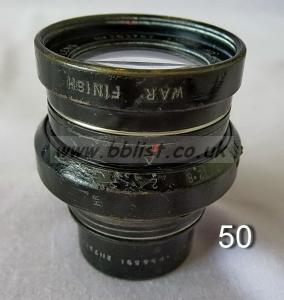 Cooke Panchro Lenses, unmounted, 'War Finish' 50-2