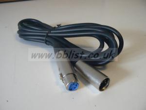 3m 12 volt 4pin XLR cable