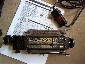 "Lowel Tota-Lite kit and a ""V"" lite"
