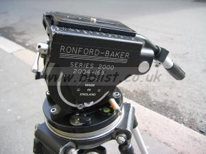 Ronford Baker 2004 Fluid Head and 2-stage Tripod