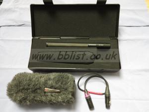 Sennheiser MKH 416 shotgun mic Rycote softie Tact filter