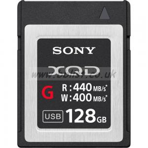 128GB XQD G Series Memory Card NEW