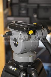 Miller DS10 2-stage tripod with mid-level spreader