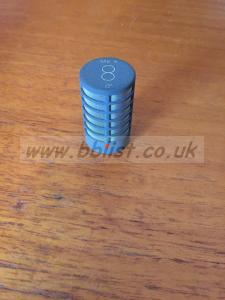 Schoeps MK8 figure 8 capsule with foam shield