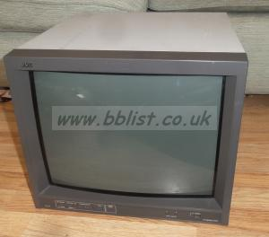 JVC TM-H1700G 750 TV Line Pal Video Broadcast Monitor