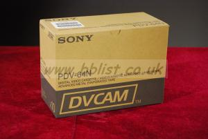 New Sony PDV-64N DVCAM Video Tapes.