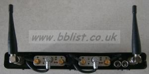2 micron SDR770/TX700 channels in DDH2T rack, COS11 mics