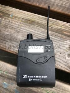 Sennheiser G3 IEM channel 38 Spares or repair.