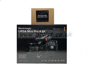 BlackMagic Ursa Mini Pro 4.6K Camcorder G1 w/ V Plate
