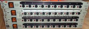 4x Tektronix MDU-10F Power Distribution Racks + Cables