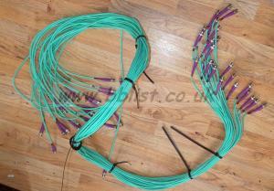 24x BNC SD/HD/3G Video Cable Reel 7ft Long
